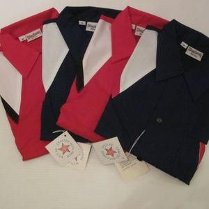 King Louie Shirts - 4 New King Louie Vintage Bowling Shirts Button